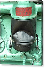 Acrylic Print featuring the photograph Murphy Diesel by Newel Hunter