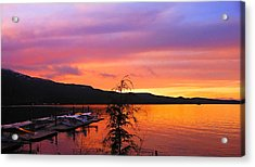 Acrylic Print featuring the photograph Murphy's Landing by Karen Horn