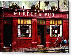 Acrylic Print featuring the photograph Murphy's Pub by Brian Tarr