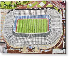 Murrayfield Stadia Art - Scotland Rugby Union Acrylic Print