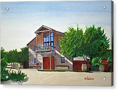 Murrietas Well Winery Acrylic Print by Mike Robles