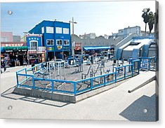 Muscle Beach Gym In Venice California Acrylic Print