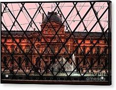Musee De Luvre Acrylic Print