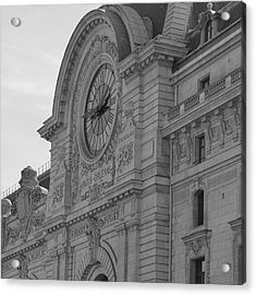 Musee D'orsay Acrylic Print by Cheryl Miller