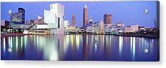 Museum, Rock And Roll Hall Of Fame Acrylic Print