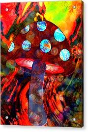 Mushroom Delight Acrylic Print