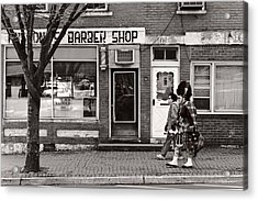 Music - Bag Piper - Somerville Nj -  The Scottsman Acrylic Print by Mike Savad