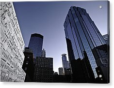 Music In The City Acrylic Print