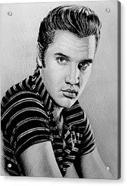 Music Legends Elvis Acrylic Print
