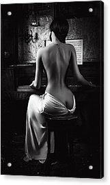 Music Of The Body Acrylic Print by Ruslan Bolgov (axe)