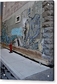 Music On The Wall Acrylic Print by Frederico Borges