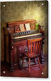 Music - Organist - Playing The Songs Of The Gospel  Acrylic Print