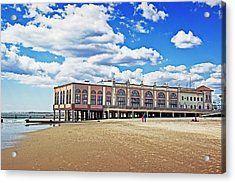 Music Pier Acrylic Print by Tom Gari Gallery-Three-Photography