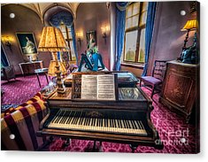 Music Room Acrylic Print by Adrian Evans