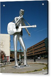 Music-sculpture Acrylic Print