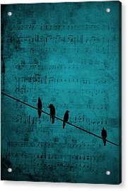 Music Soothes The Soul Acrylic Print