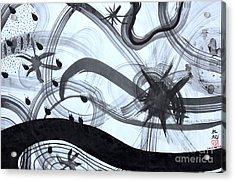 Music Starts Acrylic Print