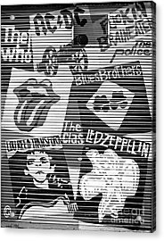 Music Street Art Acrylic Print by Luciano Mortula