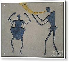 Music Time Acrylic Print by Ankit Garg