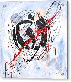 Musical Abstract 002 Acrylic Print