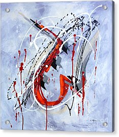 Musical Abstract 005 Acrylic Print