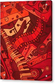 Musical Movements Acrylic Print by Chelsea Allen