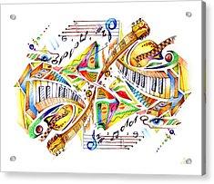 Musicality Acrylic Print