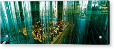 Musicians At A Concert Hall, Casa Da Acrylic Print by Panoramic Images