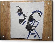 Musicman - Tile Acrylic Print by Gloria Ssali