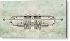 Musikalis - D01a Acrylic Print by Variance Collections