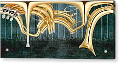 Musikalis - D11bt2 Acrylic Print by Variance Collections