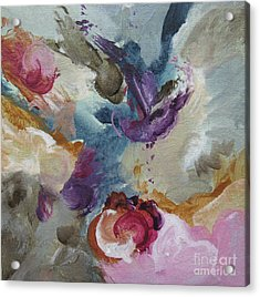 Acrylic Print featuring the painting Musing 109 by Elis Cooke