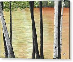 Muskoka Lagoon Acrylic Print by Kenneth M  Kirsch