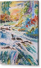 Muskoka Stream Acrylic Print