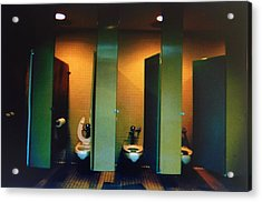 Must Be The Mens Room Acrylic Print