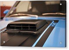 Mustang Mach 1 Shaker Hood Scoop Acrylic Print