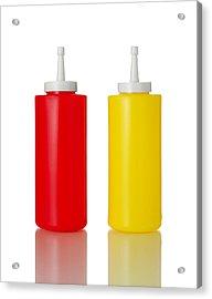 Mustard And Ketchup Acrylic Print by Jim Hughes