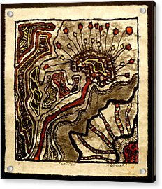 Mutantism Acrylic Print by Buck Buchheister