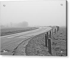Mute Landscape Acrylic Print by Odd Jeppesen