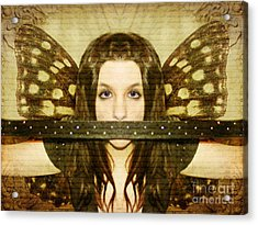 Acrylic Print featuring the photograph Mute Witness by Heather King