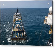 Acrylic Print featuring the photograph Mv Art Carlson by Gregory Daley  PPSA