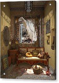 My Art In The Interior Decoration - Morocco - Elena Yakubovich Acrylic Print