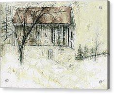 Caledon Barn Acrylic Print
