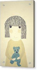 My Bear And Me Acrylic Print by Katy McFall