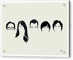 My-big-bang-hair-theory Acrylic Print