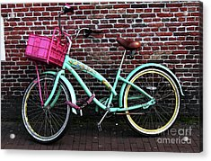 My Bike Acrylic Print by John Rizzuto