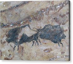My Bison Lacaze Cave Painting Acrylic Print