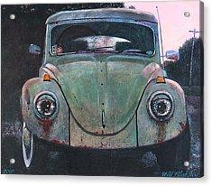 My Bug Acrylic Print by Blue Sky