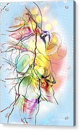 My Colors By Nico Bielow Acrylic Print