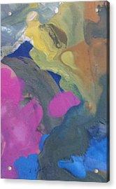 My Colours Acrylic Print